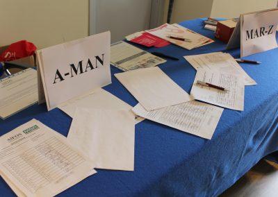 schede registrazione